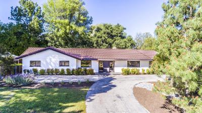 Agoura Hills Single Family Home For Sale: 5656 Colodny Drive