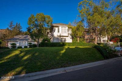 Westlake Village Single Family Home For Sale: 5579 Grey Feather Court