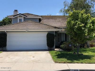Moorpark Single Family Home For Sale: 12966 Silver Creek Street