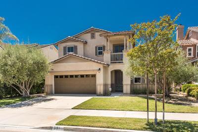 Camarillo Single Family Home For Sale: 391 Twilight Court
