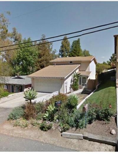 Thousand Oaks Single Family Home For Sale: 322 Houston Drive