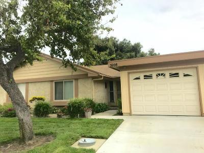 Camarillo Single Family Home For Sale: 3208 Village 3