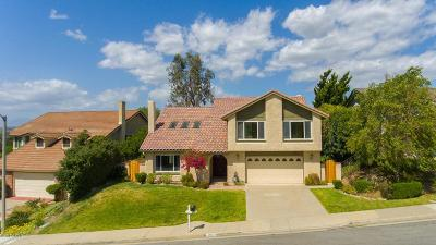 Thousand Oaks Single Family Home For Sale: 127 Los Padres Drive
