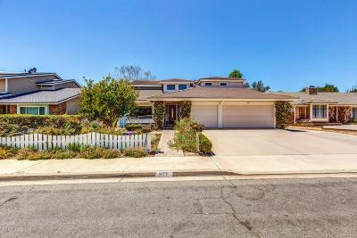 Camarillo Single Family Home For Sale: 327 Bent Twig Avenue