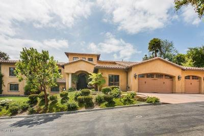 Thousand Oaks Single Family Home For Sale: 1605 East Hillcrest Heights Drive