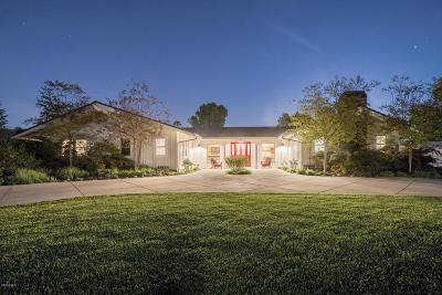 Thousand Oaks Single Family Home For Sale: 690 Calle Sequoia