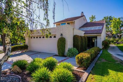 Westlake Village Condo/Townhouse For Sale: 32133 Sailview Lane