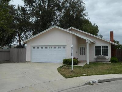 Moorpark Single Family Home For Sale: 4355 Butterfield Lane