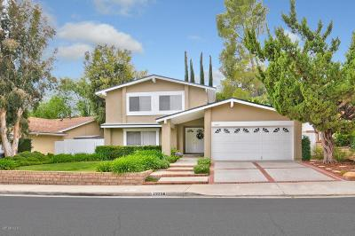 Agoura Hills Single Family Home For Sale: 29256 Trailway Lane
