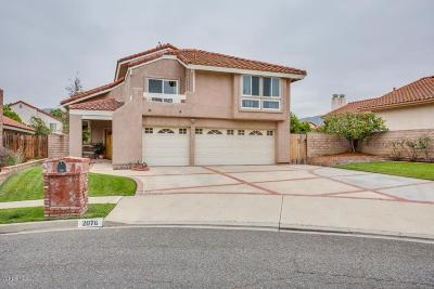 Simi Valley Single Family Home For Sale: 2076 Cushman Court