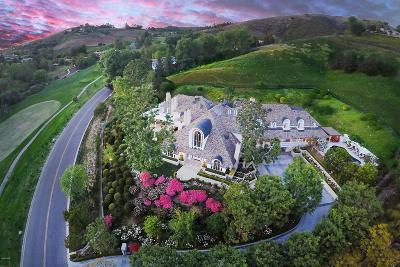 Westlake Village Single Family Home For Sale: 1064 Lakeview Canyon Road