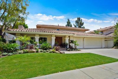Thousand Oaks Single Family Home For Sale: 3926 Avenida Verano