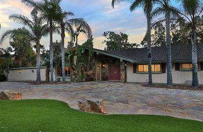 Thousand Oaks Single Family Home For Sale: 537 Calle Yucca