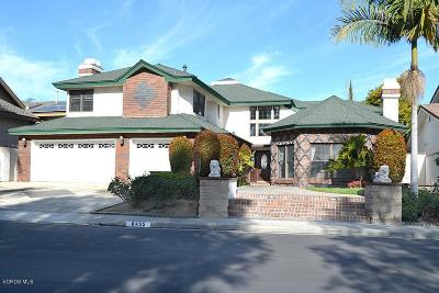 Long Beach Single Family Home For Sale: 6455 Bixby Terrace Drive
