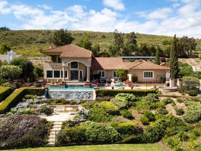Camarillo Single Family Home For Sale: 6805 Aviano Drive