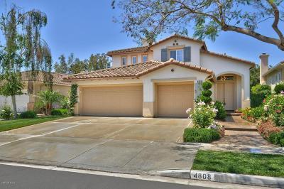 Camarillo Single Family Home For Sale: 4808 Via Secoya
