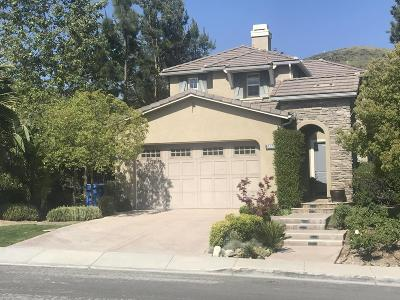Simi Valley Single Family Home For Sale: 3858 Young Wolf Drive
