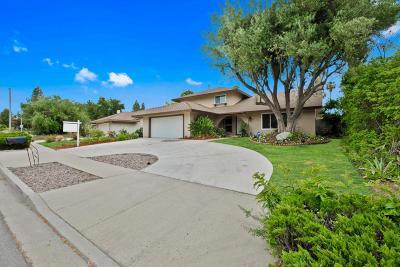 Thousand Oaks Single Family Home For Sale: 262 West Avenida De Los Arboles