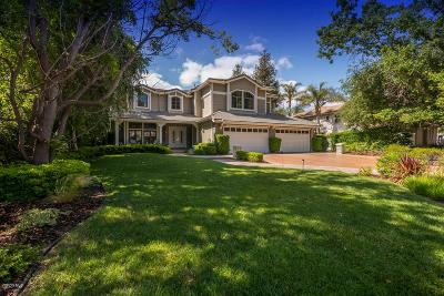 Westlake Village Single Family Home Sold: 31771 Foxfield Drive