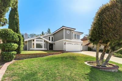 Thousand Oaks Single Family Home For Sale: 3342 Heatherglow Street