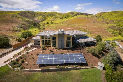 Ventura Single Family Home For Sale: 4775 Foothill Road