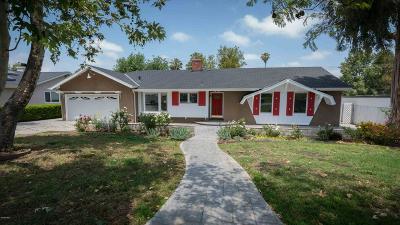 Thousand Oaks Single Family Home For Sale: 751 Old Farm Road
