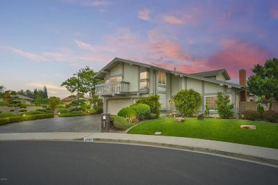 Camarillo Single Family Home For Sale: 2260 Calaveras Drive