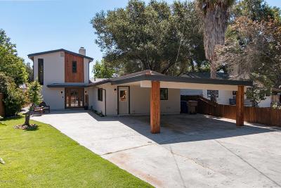 Ojai Single Family Home For Sale: 250 North Arnaz Street