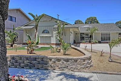 Ventura Single Family Home For Sale: 5477 Lafayette Street