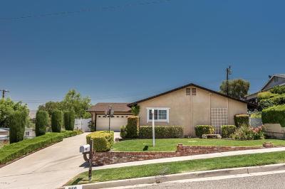 Simi Valley Single Family Home For Sale: 856 Moffatt Circle