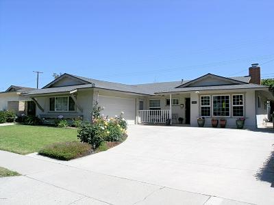 Ventura Single Family Home For Sale: 5124 Lafayette Street