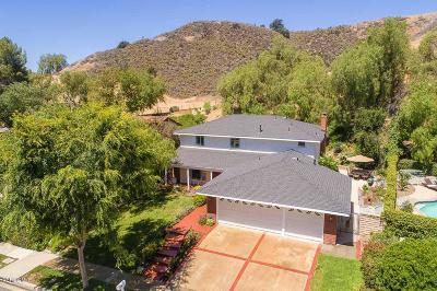 Calabasas Single Family Home Sold: 27065 Esward Drive