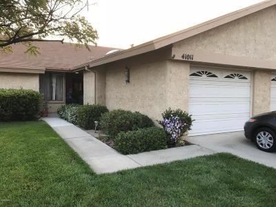 Camarillo Condo/Townhouse For Sale: 41011 Village 41