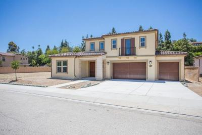 Thousand Oaks Single Family Home For Sale: 1487 Arroyo View Street