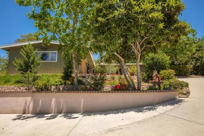 Thousand Oaks Single Family Home For Sale: 1461 El Cerrito Drive