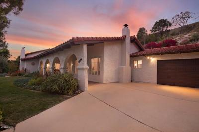 Thousand Oaks Single Family Home For Sale: 1974 Calle Yucca