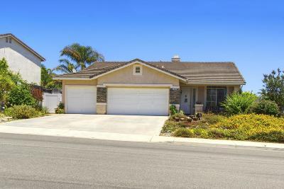 Camarillo Single Family Home For Sale: 1910 Cabrillo Mesa Court