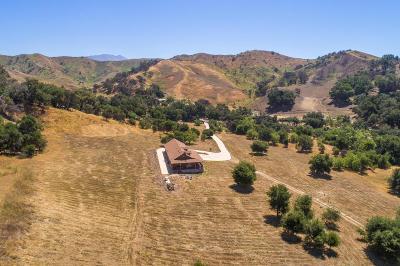 Santa Paula Single Family Home For Sale: 7477 Wheeler Canyon Road