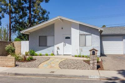 Simi Valley Single Family Home For Sale: 1605 Sequoia Avenue