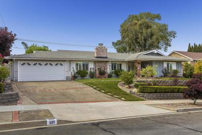 Thousand Oaks Single Family Home For Sale: 321 Somerset Circle