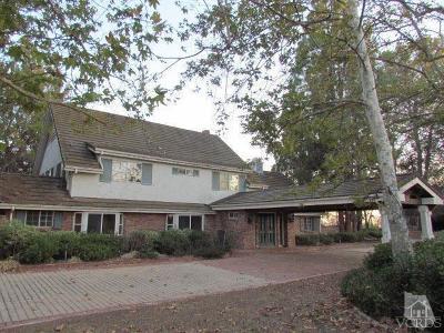 Camarillo Single Family Home For Sale: 12268 East Presilla Road