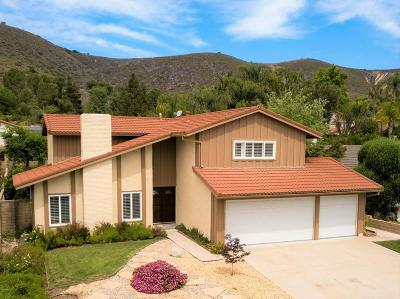 Westlake Village Single Family Home For Sale: 30807 Overfall Drive