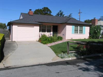 Ventura Single Family Home For Sale: 143 Shamrock Drive