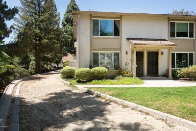 Thousand Oaks Condo/Townhouse For Sale: 596 Rio Grande Circle