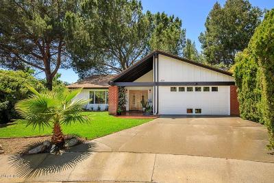 Agoura Hills Single Family Home For Sale: 4119 Gadshill Lane