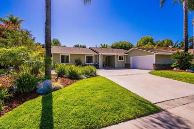 Thousand Oaks Single Family Home For Sale: 1575 Valley High Avenue