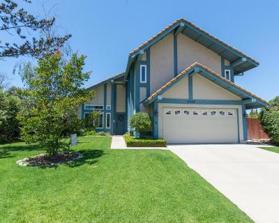 Camarillo Single Family Home For Sale: 5909 Heritage Place