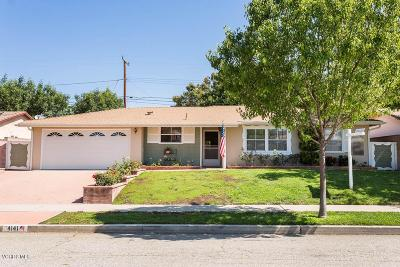 Simi Valley Single Family Home For Sale: 4141 Florence Street