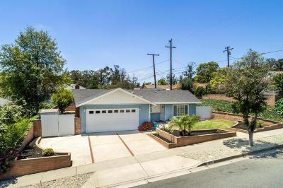 Ventura Single Family Home For Sale: 183 North Wake Forest Avenue