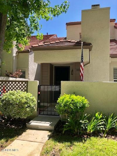 Westlake Village Condo/Townhouse For Sale: 382 Via Colinas